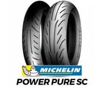 130/70-12 Michelin Power Pure SC-2CT 56P Motosiklet Arka Lastiği